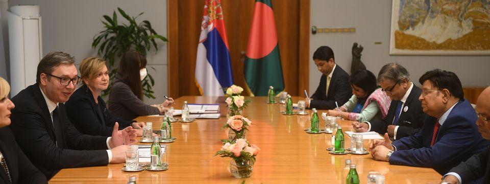 Sastanak sa ministrom spoljnih poslova Narodne Republike Bangladeš