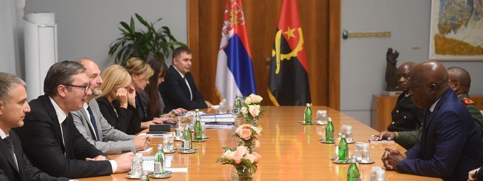 Састанак са министром одбране Републике Анголе