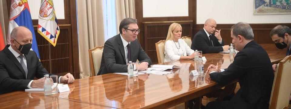 Састанак са министром спољних послова Републике Азербејџан