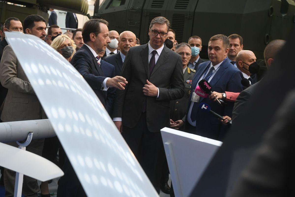 "Predsednik Vučić otvorio 10. Međunarodni sajam naoružanja i vojne opreme ""Partner 2021"""