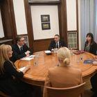 Састанак са министром унутрашњих послова, државним секретаром Министарства правде, Републичким јавним тужиоцем и Тужиоцем за ратне злочине