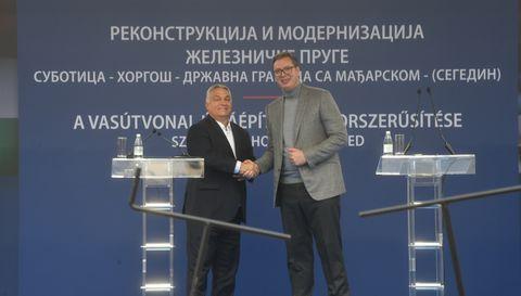 Церемонија обележавања почетка радова на реконструкцији и модернизацији железничке пруге Суботица – Хоргош - државна граница са Мађарском