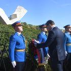 Председник Вучић присуствовао молебану у Шумарицама