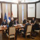 Састанак саделегацијомМисије Међународног монетарног фонда